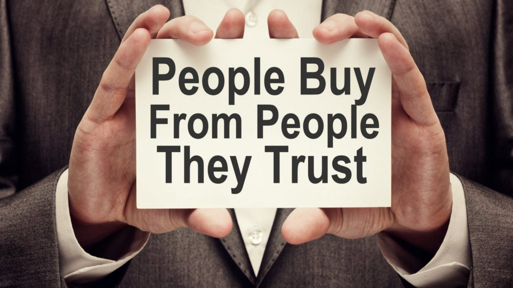 Trust is the key